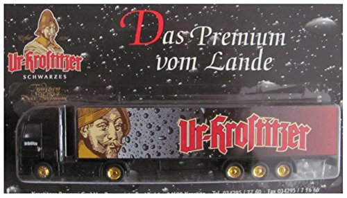 UR-KROSTITZER Nr.14 - Schwarzes - MB Actros - Sattelzug