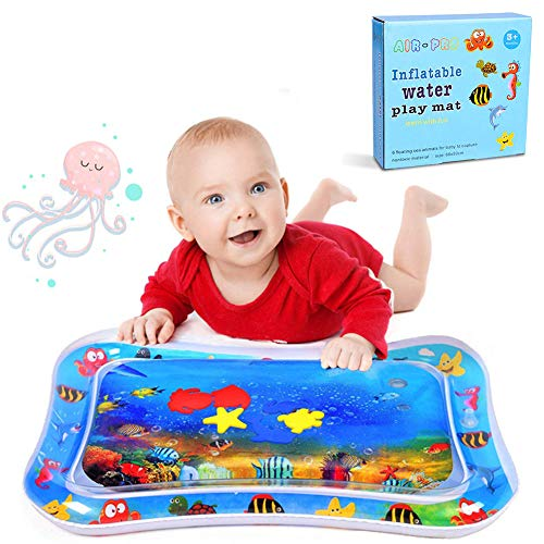 Kids Baby Water Mat - WENTS Kid Inflatable Tummy Time Water Play Mat para que los niños jueguen de forma segura y feliz
