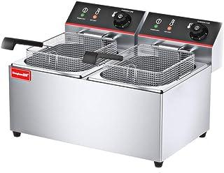 D@ Freidora eléctrica comercial,,Alta eficiencia con 2500-3500 W de potencia y 8-15litros de capacidad. control de temperatura: Amazon.es: Hogar