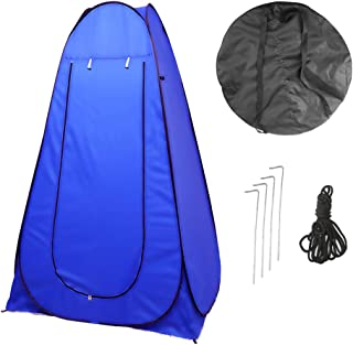 comprar comparacion Vinteky 120x120x190cm Acampar Tienda de Ducha Vestuario Impermeable Camping Desplegable Pop Up, Tienda de Campaña Portátil...