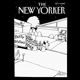 The New Yorker, October 9th 2017 (Rachel Monroe, Janet Malcolm, Kelefa Sanneh) cover art