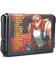 Super Games 16-bitars spelkassett för Sega Gamepad Gaming-tillbehör(TH15001)