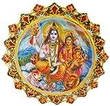 GDET F60 - Imán 3D de Lord Shiva de 6 cm de diámetro