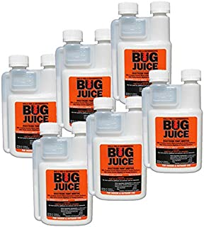 Bulk Pack Bug Juice Insecticide Paint Additive - Controls Crawling & Flying Insects (6pk, 5gal)