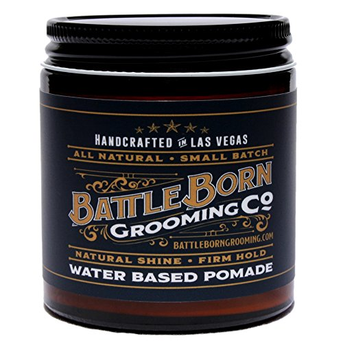 Pomade by Battle Born Grooming Co review