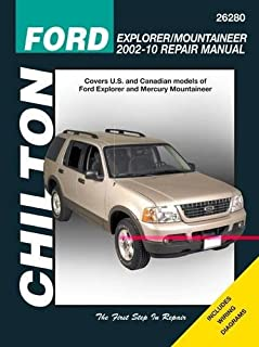 Ford Explorer & Mercury Mountaineer, 2002-2010 (Chilton's Total Car Care Repair Manual)
