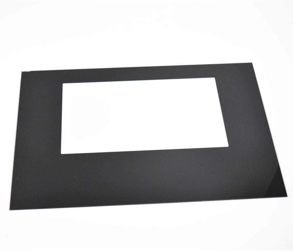 316558903 Range Oven Door Outer Original 2021 Popular brand in the world autumn and winter new Genuine Black Panel E