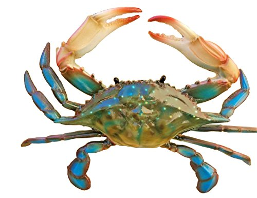 All Seas Imports Awesome Realistic Looking Acrylic Resin 9' Wide Blue Crab Wall Decor!