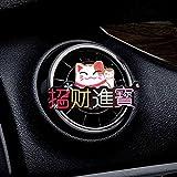 XVBTR Money Cat Coche ambientador Perfume Perfume Aire Acondicionado Salida Clip de Perfume Bulldog en Auto ambientador Interior del Coche Accesorios A