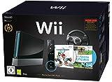 Nintendo Wii 'Mario Kart Pak' - Console avec Wii Sports, Mario Kart Wii, Volant Wii + contrôleur...
