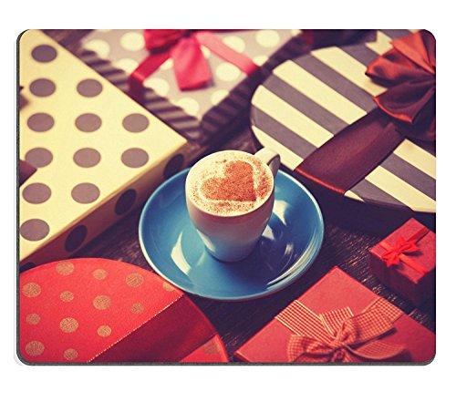 luxlady Gaming Mousepad Bild-ID: 30329704Tasse Kaffee und Weihnachten Geschenke