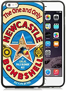 Iphone 6 Plus TPU Case,Newcastle Bombshell Pale Blonde Ale Black Shell Case for Iphone 6S Plus 5.5 Inches