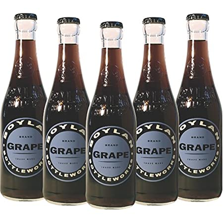 Boylan Bottleworks Grape Soda, 12 Oz (12 Glass Bottles)