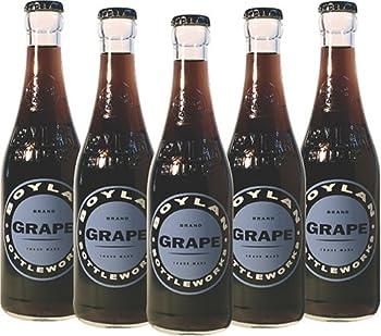 Boylan Bottleworks Grape Soda 12 Oz  12 Glass Bottles