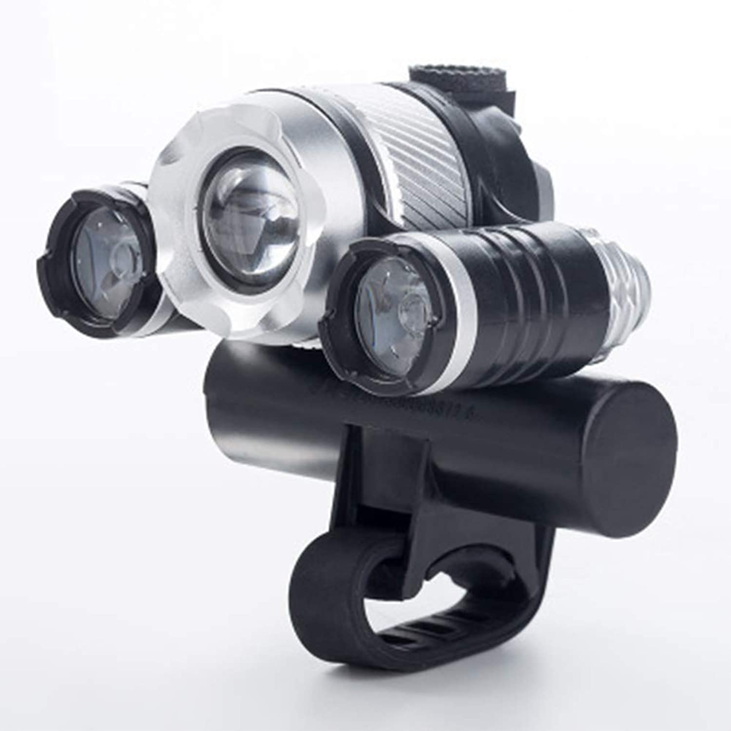 Bike Headlights USB Rechargeable Shockproof Zoom Head Light lightSuper Bright Front LED 3 Mode Option Bicycle IPX5