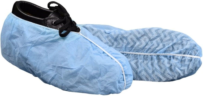 Keystone SC -NWI -NS -XL -blå Keytone Polypropen Non Non Non Skid skor Cover, med Vit Tread, XL, blå (paket av 300)  60% rabatt