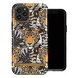Funda de Richmond and Finch diseñada para iPhone 11 Pro, Funda Tigre Tropical para iPhone 11 Pro con Detalles de Oro - Negro