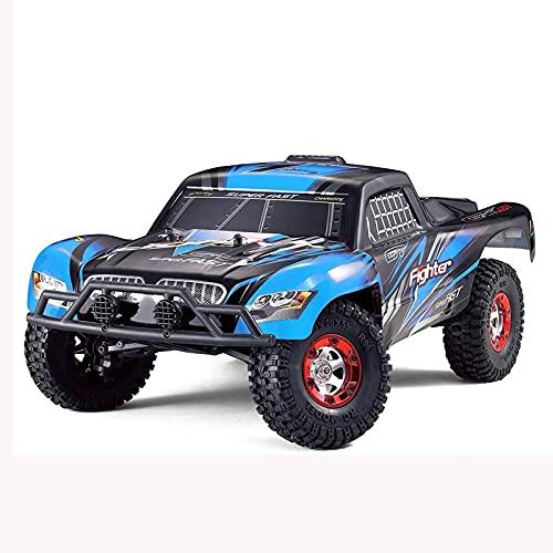 GONGFF Rc Cars para camiones a la deriva accionados por camiones de control remoto Nitro Car Fast 4x4 Monster Toys-1:12 Escala mejorada RC Truck, 40 MPH de alta velocidad todoterreno RC Truck