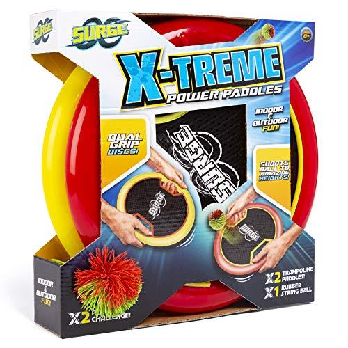 RMS Surge – X-Treme – Power Paddles – Trampolin-Ballspiel für Drinnen & Draußen