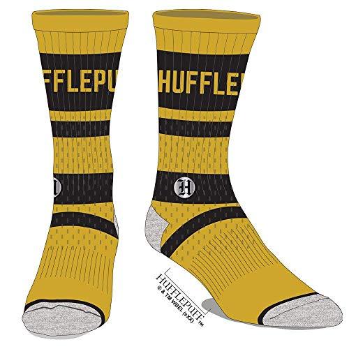 Harry Potter Gestickte Hufflepuff-Socken aus Netzstoff