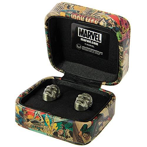 Marvel Comics Herren-Manschettenknöpfe Superhelden-Design Gr. Einheitsgröße, Hulk