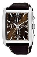 Lorus Men's Analogue Quartz Watch with Leather Strap RM319BX9