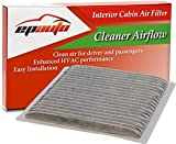 EPAuto CP846 (CF9846A) Replacement for Subaru/Toyota Premium Cabin Air Filter includes Activated Carbon