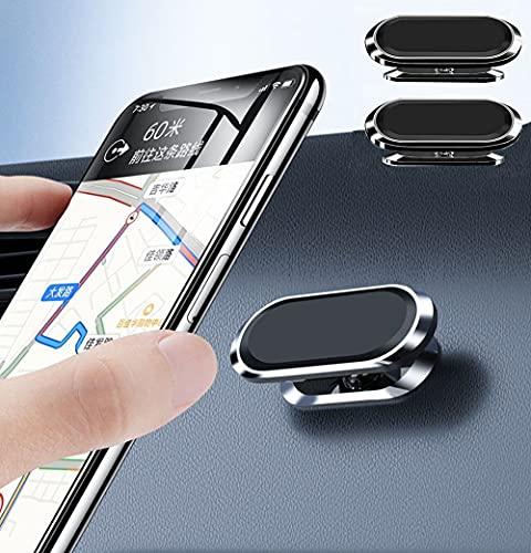 Supporto Per Cellulare Da Auto , 360° Di Rotazione Supporto Auto Smartphone( 2pack ) ,Universal Magnetic Car Phone Holder Con Dashboard Magnetic Mobile Phone Holder