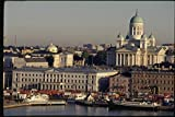 078040 Lutheran Cathedral Helsinki A4 Photo Poster Print