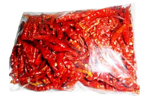 Thai Whole Dried Chile Peppers Very Hot 50g
