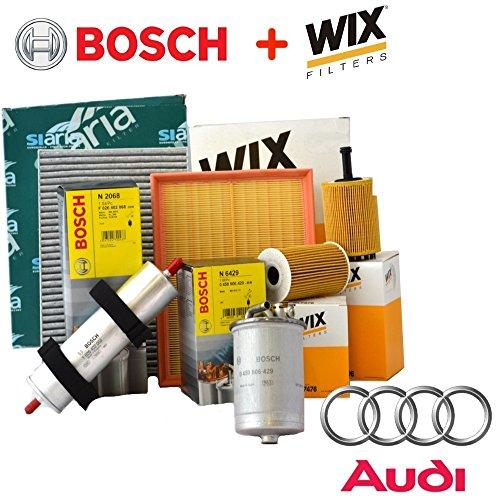 Inspektions-Kit mit 4 verschiedenen Filtern (WL7296 oder WL7476, F026402068, WA9580, V3766).