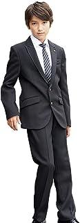 CHOPIN(ショパン) 卒業式 男の子 8901-5600 サテントリミングジャケットフォーマルセットスーツ 140 150 160 165 170cm(ゆったり 大きいサイズ)