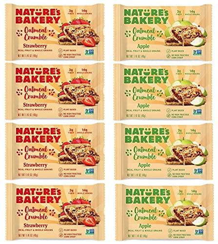 Nature's Bakery Oatmeal Crumble Bar Variety Sampler 8ct 1.41oz