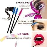 Zoom IMG-2 cineen 100 pcs eyelash brushes