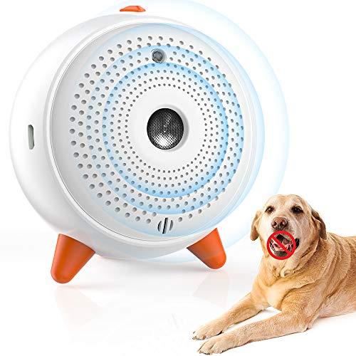 Ultrasuoni per Cani, Dispositivo Antiabbaiamento per Cani Sonic Deterrente per Il Controllo dell'abbaiamento del Cane per Fermare l'abbaiamento ad ultrasuoni Impermeabile per Interni ed Esterni