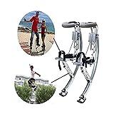 WXH Zapatos de Canguro para Adultos, Zapatos para Saltar, Correr, Correr y Saltar con Ejercicio, 155~200 lbs / 70~90 Kg, Zancos para Hombres, Ejercicio de Ejercicio para Hombres, aleación de Aluminio
