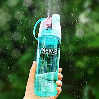 Bazaar Creative Outdoor Spray Water Bottle Portable Large Capacity Moisturizing Water Bottle Cup