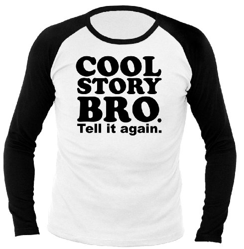 Chameleon Clothing Fun Cool Stry Bro. 701296 Longsleeve Raglan 048 L