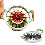 YQGOO Multifunktionaler Obstschneider Wassermelone, Fruchtmelonen-kantalupenschneider...