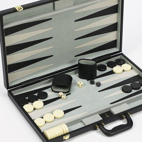 Rockefeller Plaza Deluxe Tournament Giant Backgammon Set 21