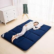 Futon Mattress, 4cm 100% Cotton Mattress Double Bed Mat Tatami Mattress Multi-Size Anti-Skid Mattress Student Dorm Bed Pad