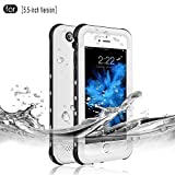 iPhone 6 Plus/6s Plus Waterproof Case, Full Sealed Underwater Protective Cover...