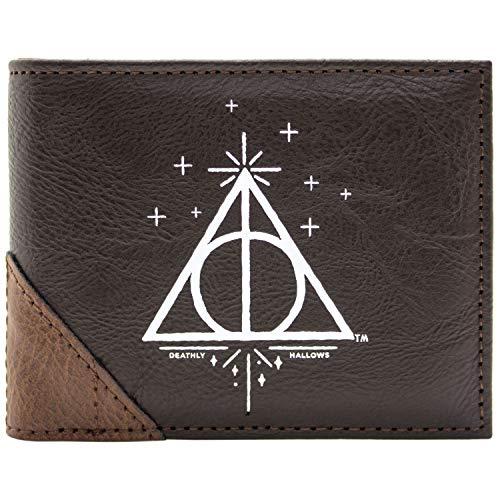 Harry Potter Heiligtümer des Todes Braun Portemonnaie Geldbörse