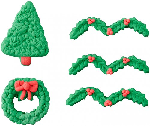 Wilton Tree & Wreath Greenery Candy Decorations