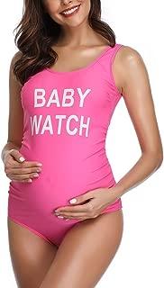 Traje de baño Mujer Maternidad Premamá Playa Espalda Abierta
