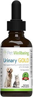 pet wellbeing urinary gold for dogs
