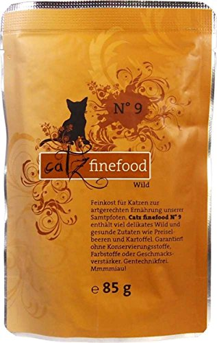 Catz finefood No.9 Wild 85g