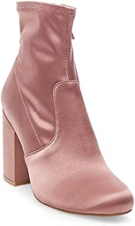 Steve Madden Womens Gaze Solid Ankle Booties