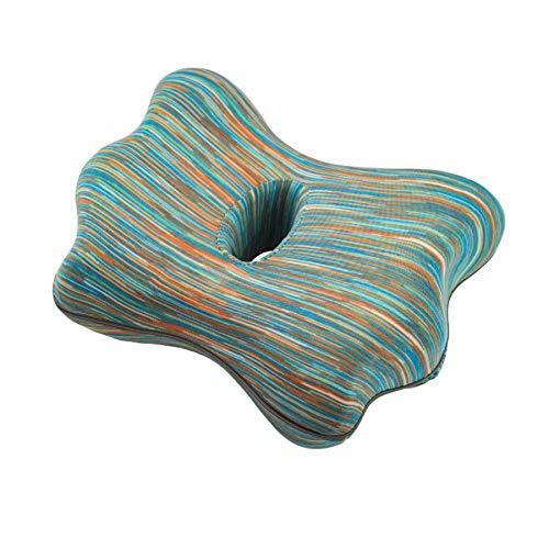 GSDJU Almohada con Forma de Mariposa para Dormir Almohadas con posicionador de piernas de Espuma viscoelástica Cojín de Soporte de Rodilla Entre Las piernas Dolor de Cadera Ciática