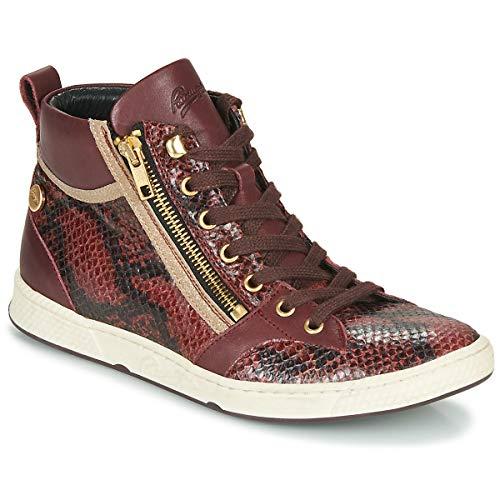 Pataugas Julia/Mix F4f Sneaker Damen Raisin High Top Sneaker Schuhe, (Raisin), 38.5 EU